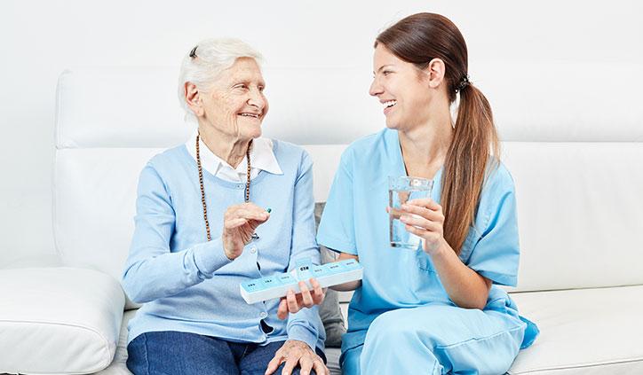Tabletten Medikamente Pflegedienst